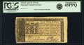 Colonial Notes:Maryland, Maryland April 10, 1774 $6 Fr. MD-69. PCGS Extremely Fine 45PPQ.....