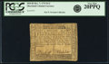 Colonial Notes:Maryland, Maryland December 7, 1775 $1/2 Fr. MD-82. PCGS Very Fine 20PPQ.....