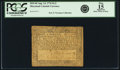 Colonial Notes:Maryland, Maryland August 14, 1776 $1/2 Fr. MD-94. PCGS Fine 15 Apparent.....