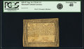 Colonial Notes:Maryland, Maryland August 14, 1776 $1 1/3 Fr. MD-97. PCGS Extremely Fine 40.. ...