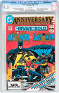 Modern Age (1980-Present):Superhero, The Brave and the Bold #200 Batman (DC, 1983) CGC NM/MT 9.8 Whitepages....
