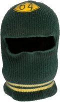 Football Collectibles:Others, 1960's Jerry Kramer Game Worn Green Bay Packers Ski Mask....