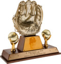 Baseball Collectibles:Others, 1972 Bobby Murcer Gold Glove Award....