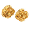 Estate Jewelry:Earrings, Gold Earrings, Seaman Schepps. ...