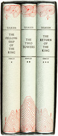Books:Science Fiction & Fantasy, J. R. R. Tolkien. Silver Anniversary Edition of The Lord of the Rings Trilogy. Boston: Houghton Mifflin Company,... (Total: 3 Items)