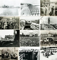[Coney Island]. Archive of Approximately 45 Photographs Depicting Historical Views of Coney Island