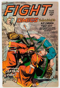 Fight Comics #44 (Fiction House, 1946) Condition: FN-
