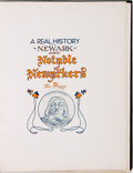 Books:Art & Architecture, [Caricature]. Tom Fleming. SIGNED/LIMITED. A Real History of Newark and Notable Newarkers. [Newark, NJ: Tom Fleming ...