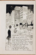 "Books:Art & Architecture, [Cartoons]. Adolph C. Fera. Post Cards of a Tourist (Mr. ""Skinny"" East) Cartoons of Southern California. Los Angeles..."