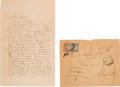 Autographs:Artists, Richard Wagner Autograph Letter Signed. ... (Total: 3 )