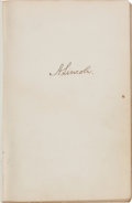 Autographs, Autograph Album Compiled by John W. Mix and Spanning the Years ofthe Civil War Up Through the Early 1900s. ...