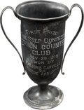 "Movie/TV Memorabilia:Awards, A Roscoe ""Fatty"" Arbuckle Loving Cup Award, 1915...."