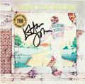 Music Memorabilia:Autographs and Signed Items, Elton John Signed Goodbye Yellow Brick Road LP Cover (MCAMCA2-6894, 1973). ...