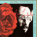 Music Memorabilia:Autographs and Signed Items, Elvis Costello Signed Mighty Like a Rose Promo LP Flat(Warner Bros. 9 26575-2, 1991). ...