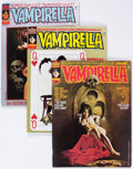 Magazines:Horror, Vampirella Group of 41 (Warren, 1974-78) Condition: Average FN-.... (Total: 41 Comic Books)
