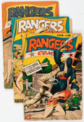 Golden Age (1938-1955):War, Rangers Comics Group of 16 (Fiction House, 1945-52) Condition:Average FR.... (Total: 16 Comic Books)