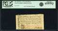 Colonial Notes:North Carolina, North Carolina December, 1771 2 Shillings 6 Pence House Fr. NC-136b. PCGS Gem New 65PPQ.. ...