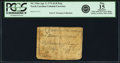 Colonial Notes:North Carolina, North Carolina April 2, 1776 $1/8 Dog Fr. NC-154a. PCGS Fine 15Apparent.. ...