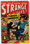 Golden Age (1938-1955):Horror, Strange Tales #4 (Atlas, 1951) Condition: GD....