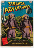 Golden Age (1938-1955):Science Fiction, Strange Adventures #1 (DC, 1950) Condition: FR/GD....