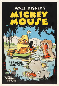 "Trader Mickey (United Artists, 1932). One Sheet (28"" X 41"")"