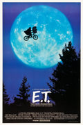 """Movie Posters:Science Fiction, E.T. The Extra-Terrestrial (Universal, 1982). One Sheet (27"""" X 40"""") Bicycle Style.. ..."""