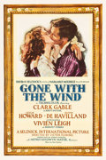 "Movie Posters:Academy Award Winners, Gone with the Wind (MGM, 1939). One Sheet (27"" X 41"") Style DF,Armando Seguso Artwork.. ..."
