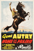 "Movie Posters:Western, Home on the Prairie (Republic, 1939). One Sheet (27.25"" X 41"")....."