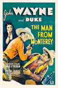 """Movie Posters:Western, The Man from Monterey (Warner Brothers - First National, 1933). One Sheet (27"""" X 40.5"""").. ..."""