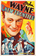 "Movie Posters:Western, The New Frontier (Republic, 1935). One Sheet (27"" X 41"").. ..."