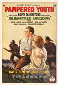 """Movie Posters:Drama, Pampered Youth (Vitagraph, 1925). One Sheet (28"""" X 41"""").. ..."""