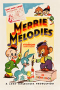 "Movie Posters:Animation, Merrie Melodies (Warner Brothers, 1940-1941). Stock One Sheet(27.25"" X 41"").. ..."