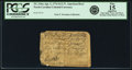 Colonial Notes:North Carolina, North Carolina April 2, 1776 $1/2 N. American Bear Fr. NC-156a. PCGS Fine 15 Apparent.. ...