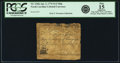 Colonial Notes:North Carolina, North Carolina April 2, 1776 $1/2 Ship Fr. NC-156h. PCGS Fine 15Apparent.. ...