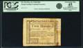 Colonial Notes:North Carolina, North Carolina May 10, 1780 $200 Fr. NC-194. PCGS Extremely Fine 45Apparent.. ...