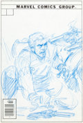 Original Comic Art:Covers, Rawhide Kid #148 Cover Preliminary Sketch Original Art(Marvel, 1978)....