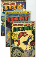 Golden Age (1938-1955):Horror, Adventures Into The Unknown Group (ACG, 1951-53) Condition: AverageVG/FN.... (Total: 4 Comic Books)