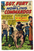 Silver Age (1956-1969):War, Sgt. Fury and His Howling Commandos #5 (Marvel, 1964) Condition: FN-....