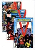 Modern Age (1980-Present):Science Fiction, V #1-18 Group (DC, 1985-86) Condition: Average NM+.... (Total: 18Comic Books)