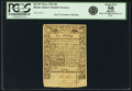 Colonial Notes:Rhode Island, Rhode Island May 1786 10 Shillings Fr. RI-297. PCGS About New 50Apparent.. ...