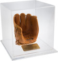 Baseball Collectibles:Others, 1995 Mickey Mantle Rawlings Presentation Funeral Glove from TheBobby Murcer Collection. ...