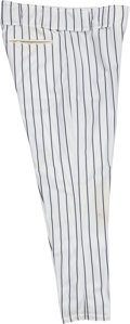 Baseball Collectibles:Uniforms, 2001 Bobby Murcer Game Worn New York Yankees Old-Timers' Day Pants from The Bobby Murcer Collection. ...