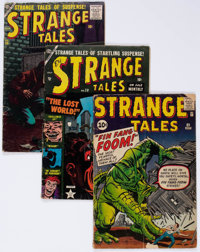 Strange Tales Group of 8 (Atlas, 1953-62) Condition: Average GD.... (Total: 8 Comic Books)