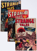 Golden Age (1938-1955):Science Fiction, Strange Tales Group of 8 (Atlas, 1955-62) Condition: AverageVG-.... (Total: 8 Comic Books)