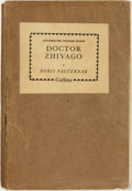 Books:Literature 1900-up, Boris Pasternak. UNCORRECTED ADVANCED PROOF. Doctor Zhivago.London: Harvill Press and Collins, 1958. ...