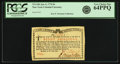 Colonial Notes:New York, New York Water Works January 6, 1776 8 Shillings Fr. NY-184. PCGSVery Choice New 64PPQ.. ...