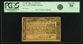Colonial Notes:New York, New York March 5, 1776 $1/4 Fr. NY-187. Very Fine 30.. ...
