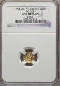 California Fractional Gold , 1854 50C Liberty Octagonal 50 Cents, BG-308, R.4, -- Bent -- NGCDetails. UNC. NGC Census: (0/18). PCGS Population (8/70). ...