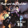 "Music Memorabilia:Autographs and Signed Items, Prince Signed ""Let's Go Crazy / Erotic City"" 45 RPM Picture Sleeve(Warner Bros. 29216-7, 1984). ..."