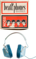 Music Memorabilia:Memorabilia, Beatles - Beatlephones Headphones With Box (Koss Electronics, 1966)....